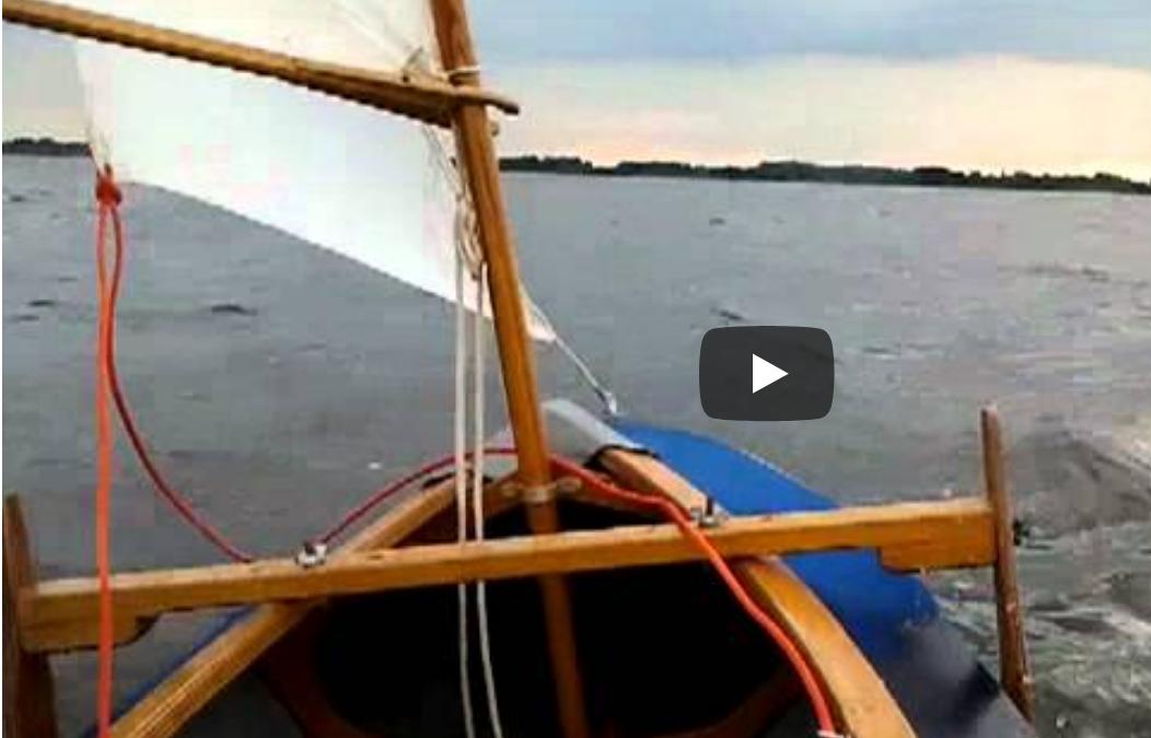 Nieuw lid, Harald Sprenkeling, niet geheel onbekend met kanoën