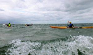 oefenen op zee