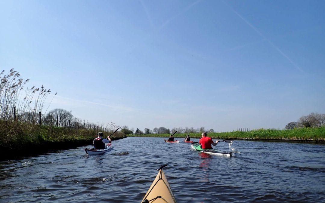 tocht op de Hollandsche IJssel op 7 april 2019